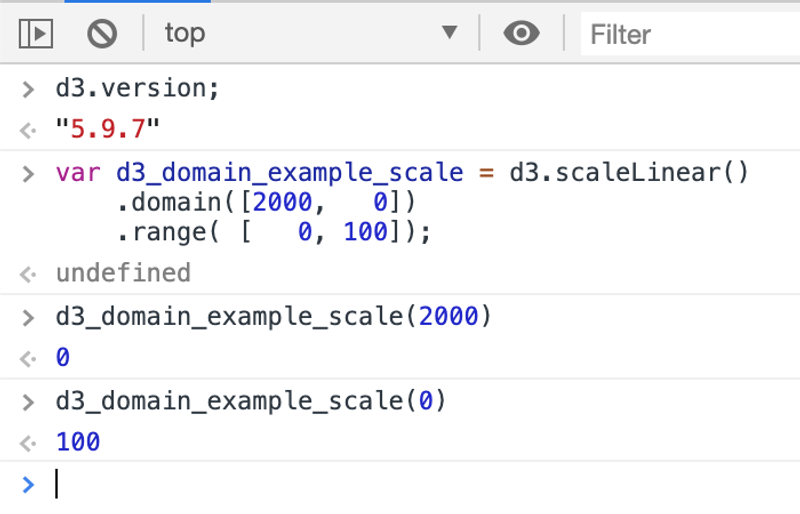 D3 Domain Example Three Right Most Value