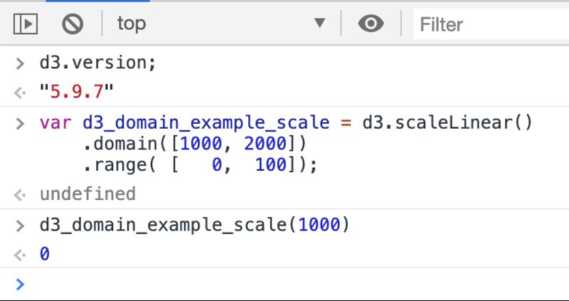 D3 Domain Example Two Left Most Value