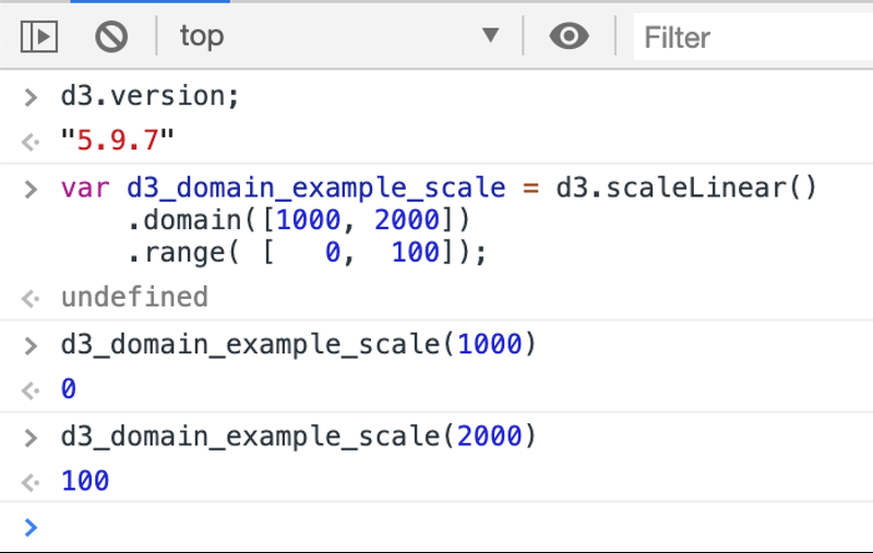 D3 Domain Example Two Right Most Value